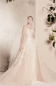 7e1ad11790 His most recent bridal collection took inspiration from the cherry blossoms  of Japan, which shows in the floral embellishments and motifs, as well as  his ...