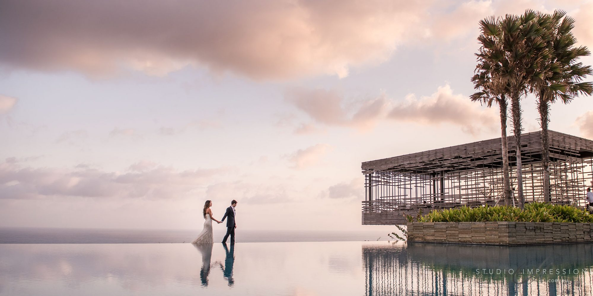 Picturesque Photo of Wedding Venue in Alila Villas Uluwatu