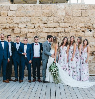 Kiley & Maayan's Mediterranean Wedding In Caesarea Winery, Israel