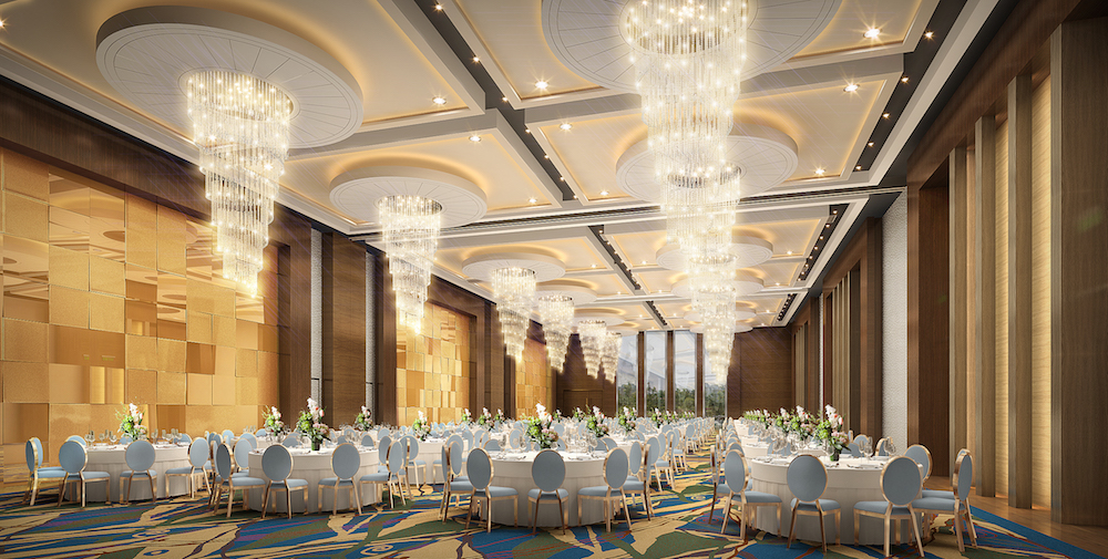 Grand Azure Ballroom Auberge Discovery Hong Kong Wedding Venue