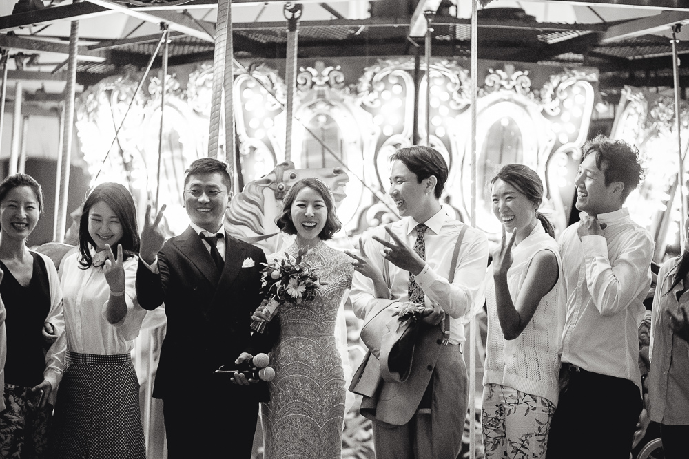 WedElf Inspiration Amusement Park Wedding at Yongma Land, South Korea