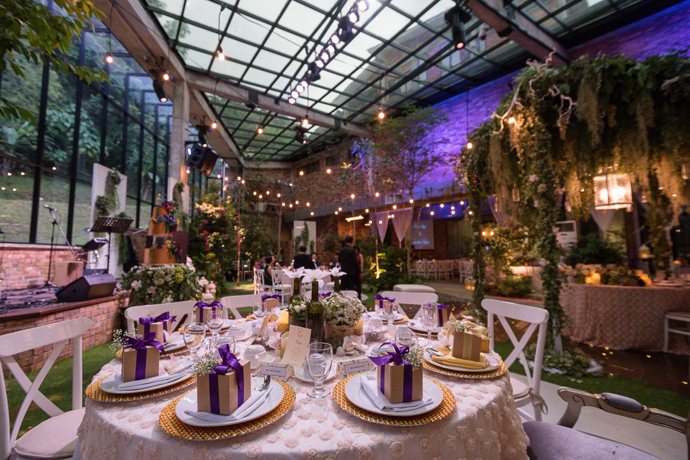 Glasshouse at Seputeh | Wedding Venue