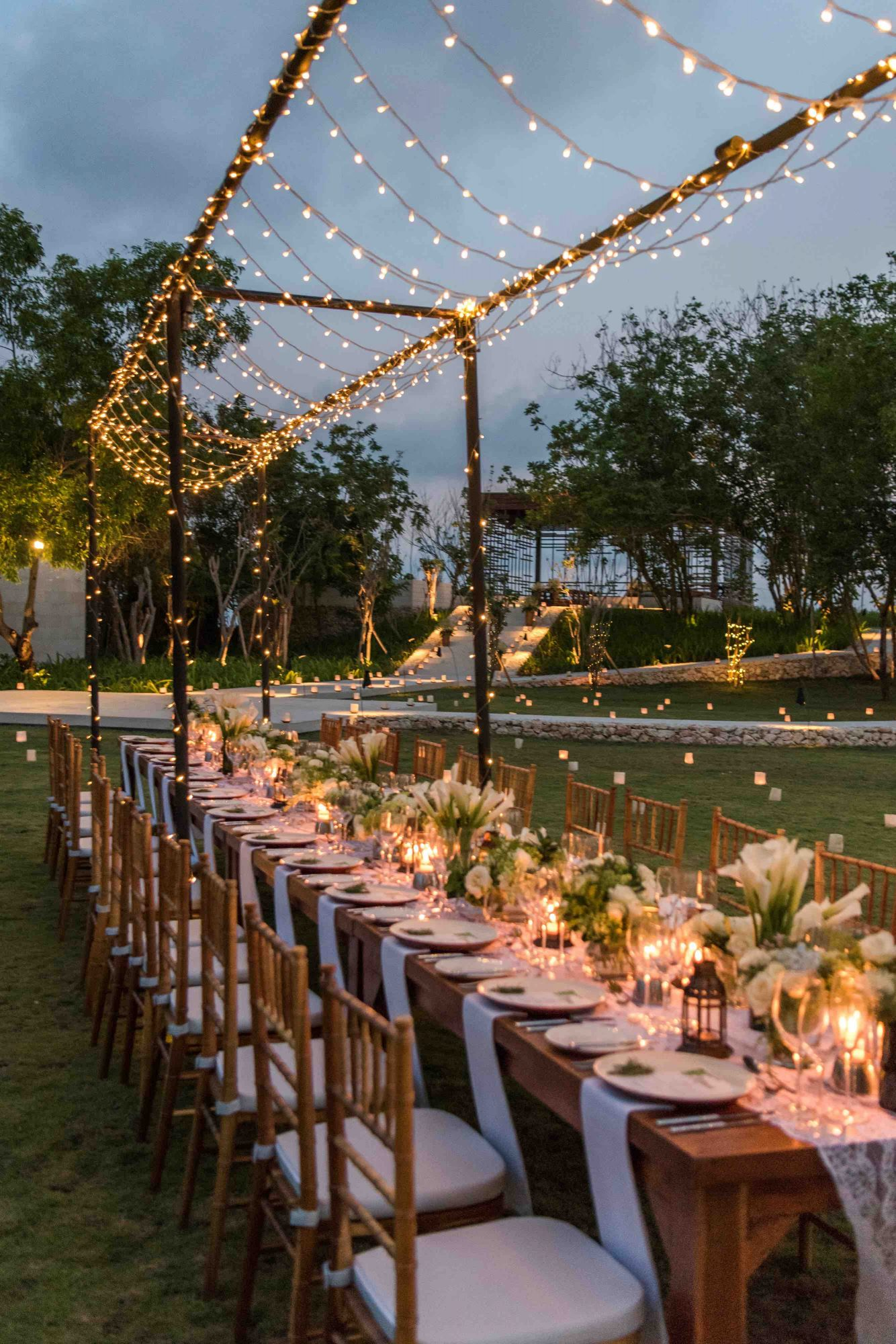 Garden Wedding Venue in Alila Villas Uluwatu