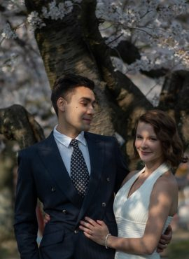 How Expats Alexa & Aleks Planned Their Cozy Local Fukuoka Wedding in Japan