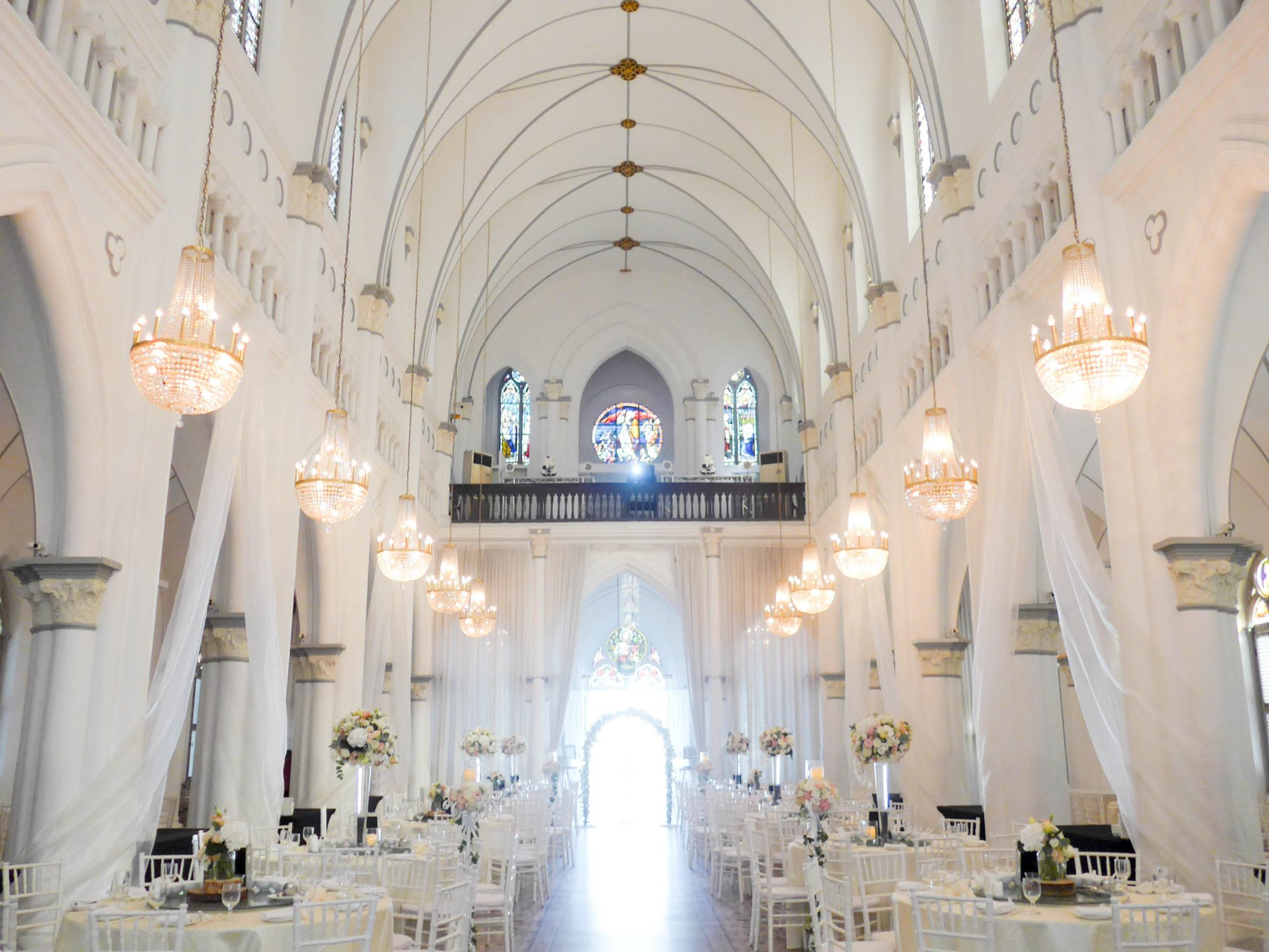 Wedding at CHIJMES Hall