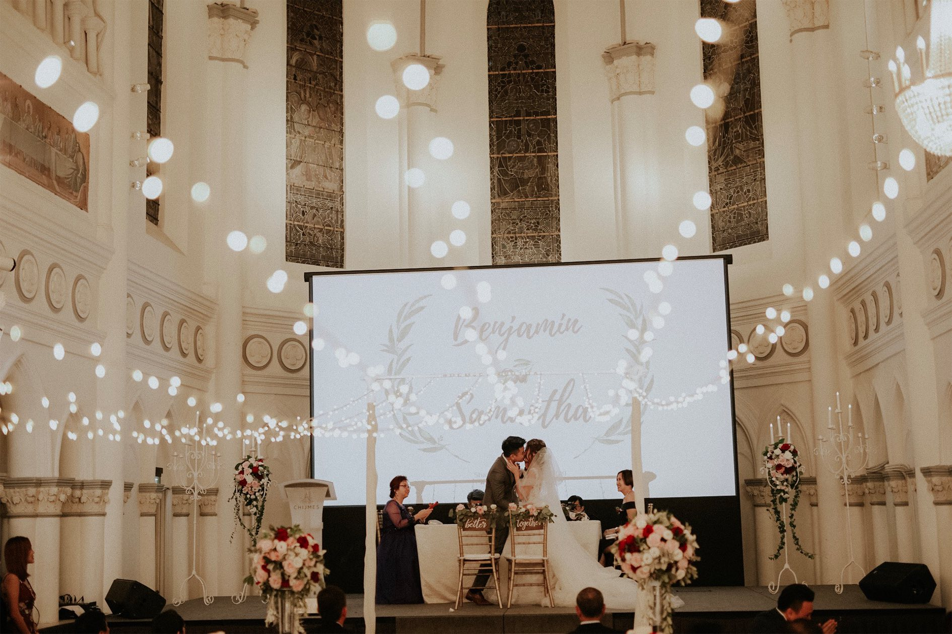 Real wedding at CHIJMES Hall