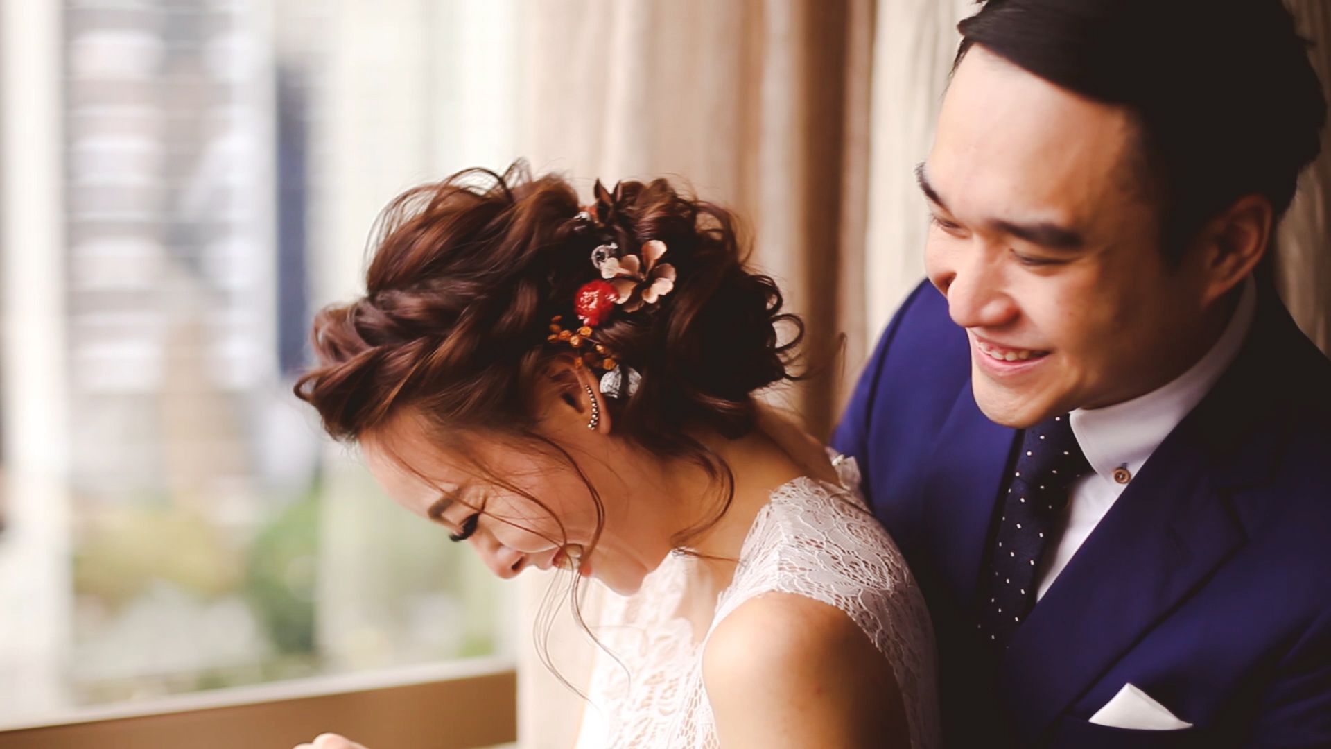 Wedding photographed by Substance Films