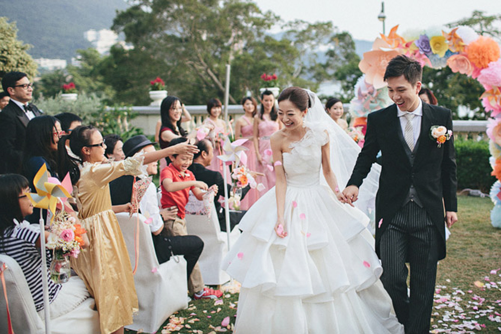 The Front Lawn Hong Kong Wedding Venue