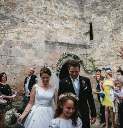 Want A French Chateau Wedding? This Couple Did It, And We're Envious!