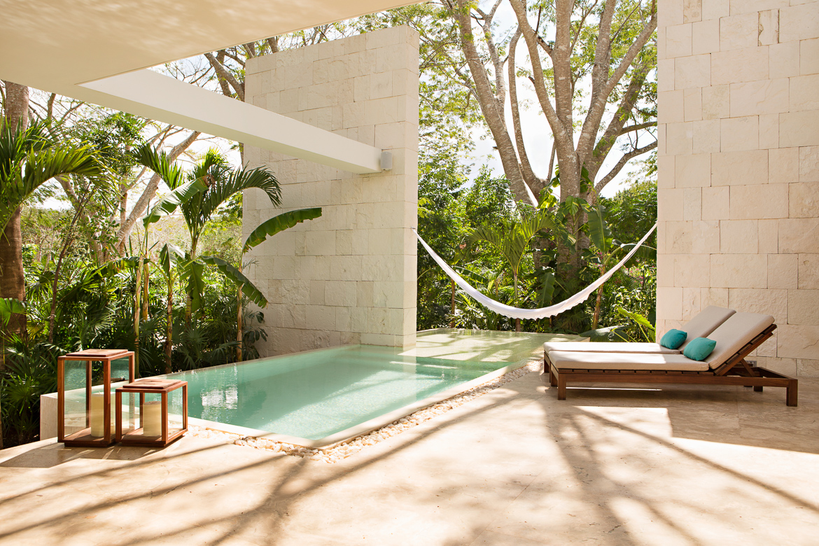 Accommodations at Chablé Resort & Spa, Yucatan