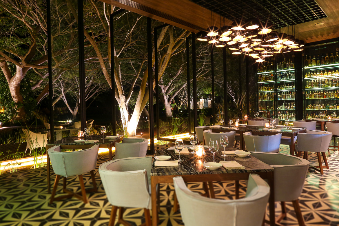 Dining at Chablé Resort & Spa, Yucatan