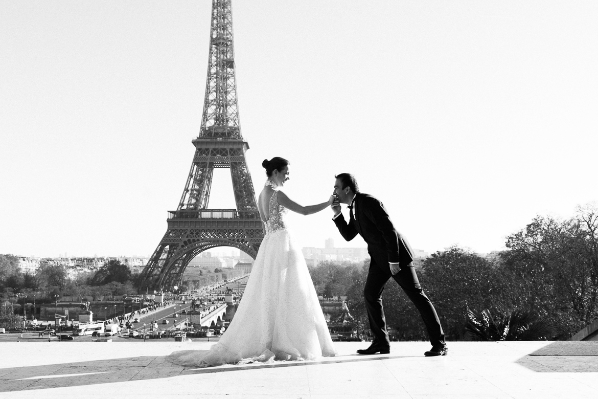 Wedding photo by Harmonie Photography Paris