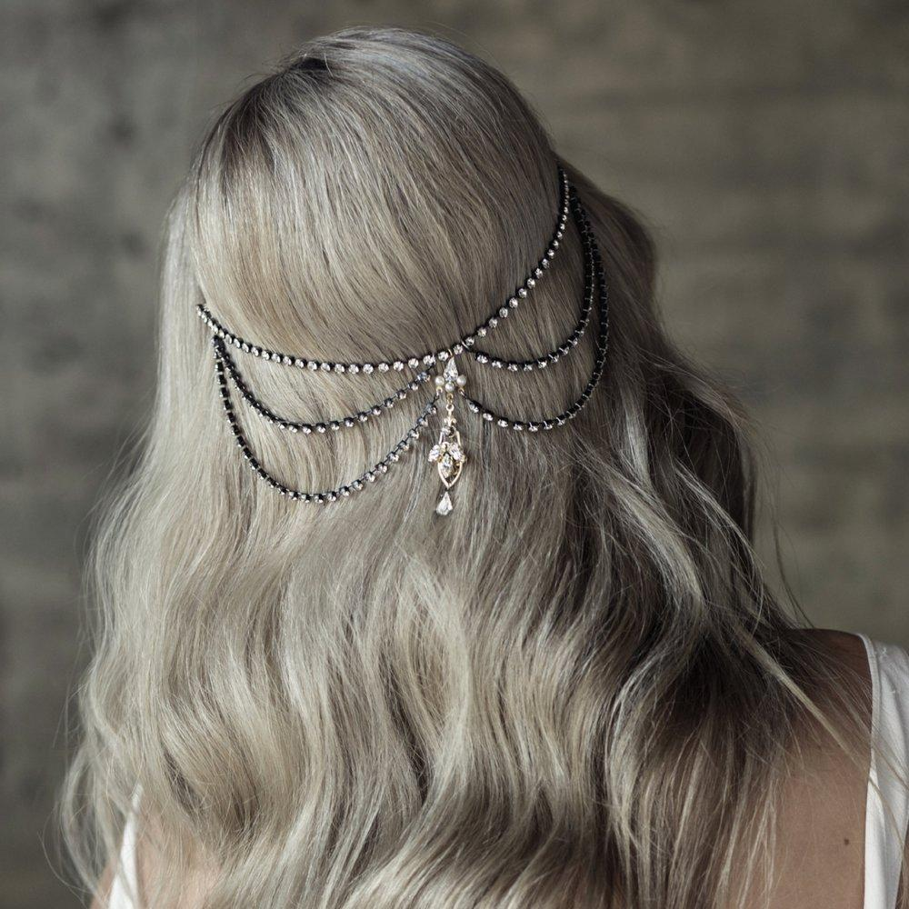 Olivia the Wolf Hair Accessory