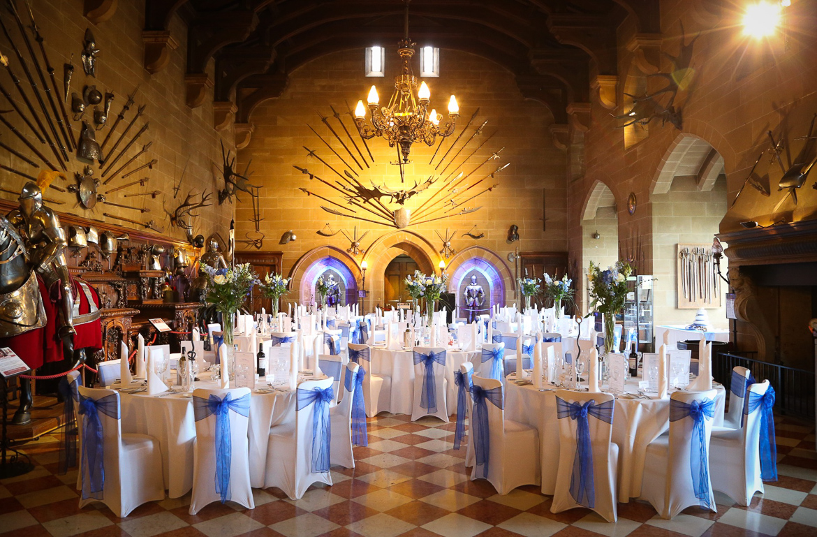 Wedding at Warwick Castle