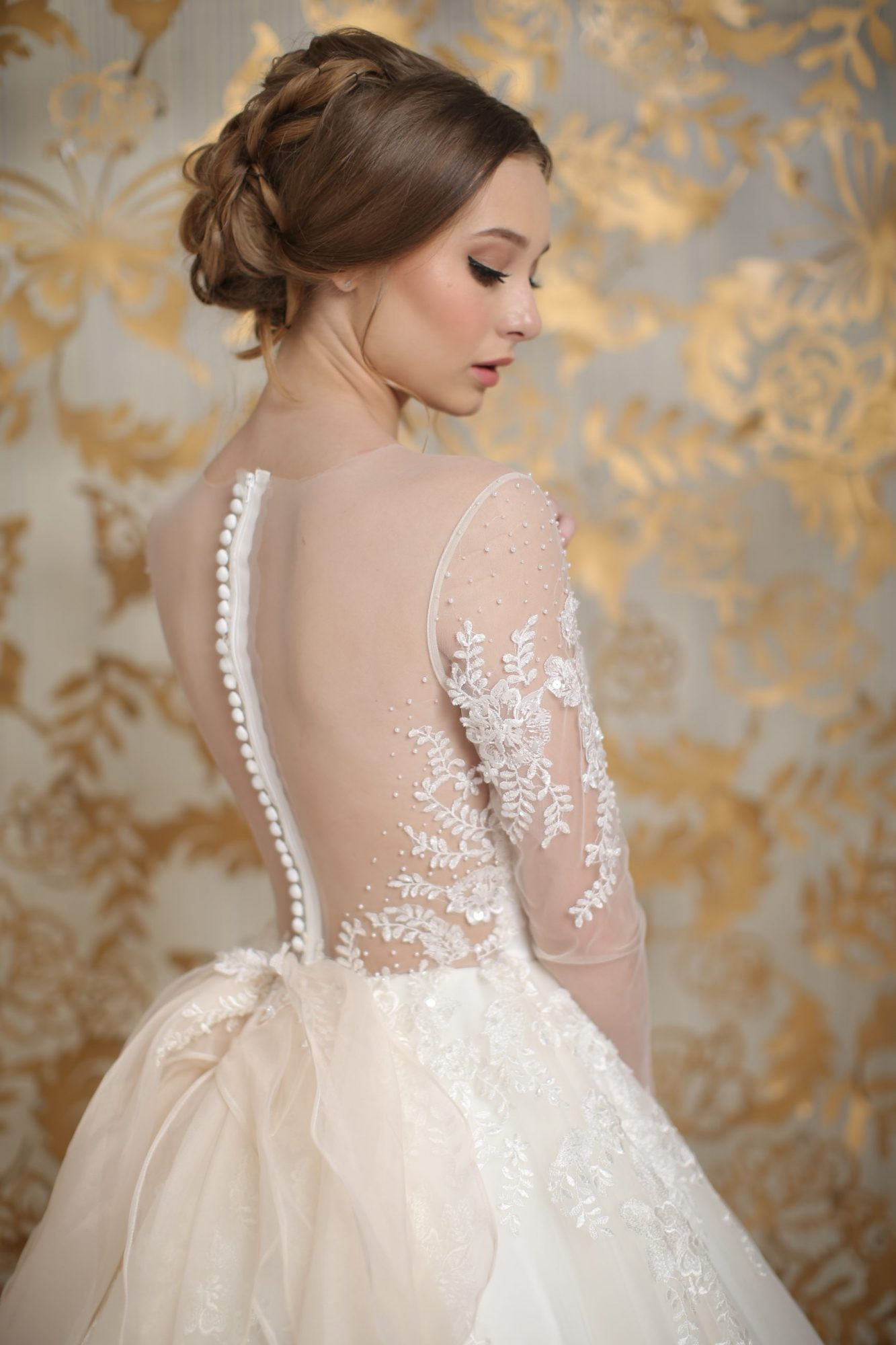Bridal gown by Laurent Agustine by LOTA