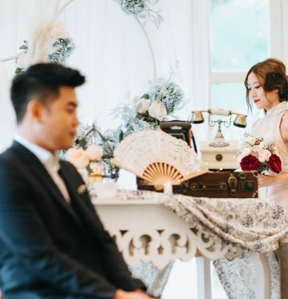 An Oriental Styled Shoot Inspired by the 1920s