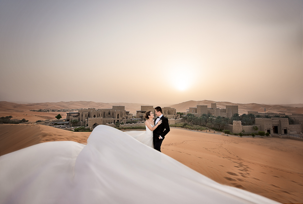 Luc & Alicia's Prewedding Photoshoot in Abu Dhabi by LoveinStills | WedElf