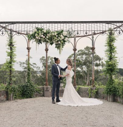 Dreamy French-Inspired Styled Shoot Proving'Romance Isn't Dead'