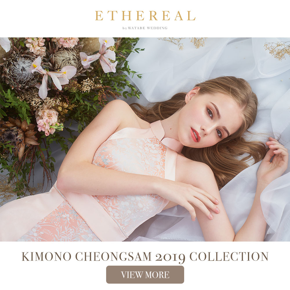 Ethereal Kimono Cheongsam 2019 Collection - View More