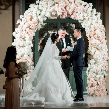 Luxurious fairy tale wedding  of lovebirds Devina & Andy