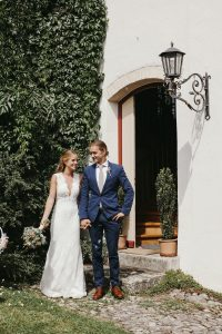 Elli & Terry's Intimate Wedding at One of the World's Oldest Castle