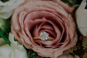 Diamond Ring on Flower from Essendon