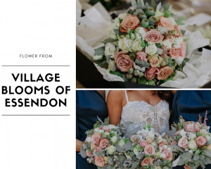 Village Blooms of Essendon Flower for Exotic Wedding