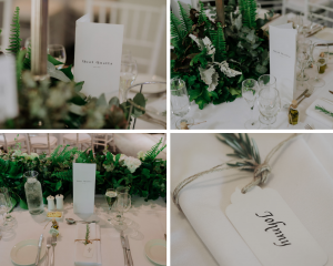 Wedding Stationery from Leigh Childs in Quat Quatta Wedding Reception