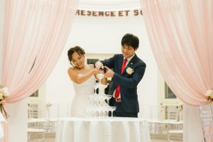 Real Wedding of Alcove at Caldwell House