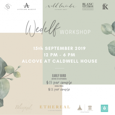 WedElf Workshop:  No detail is too small  when it comes to your big day