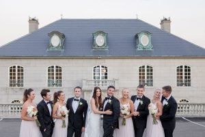 Lush Wedding of Morgan and Francesco at Campbell Point House