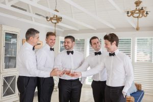 Francesco and groomsmen
