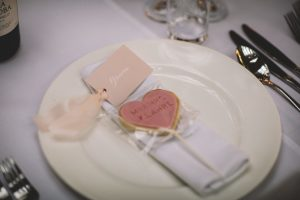 Personalised cookies as Wedding favours from Little Beaus Bakery