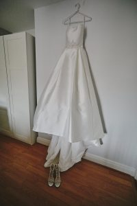 Reece's wedding gown