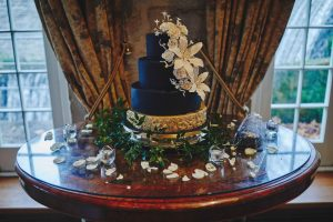 wedding cake from Tanya Ross- Novel-T Cakes