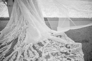 "Made with love bridal ""Ella"" 'Ella' with long train and beautiful lace"