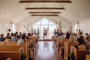 Renee & Ambrose's wedding at Summergove Estate – Chapel