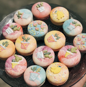Macarons from Cupplets