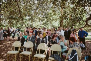 Ceremony at St Kilda Botanical Gardens