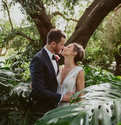Alexandra & Ian's Sweet Wedding Under a Magnolia Tree in St Kilda