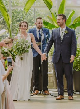 Simplicity, Elegance, and Love:The Fairytale Wedding ofEmma and Joey