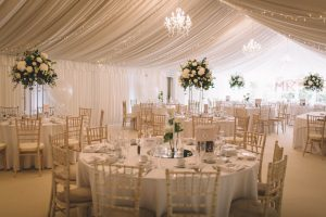 reception venue in Priory Cottages