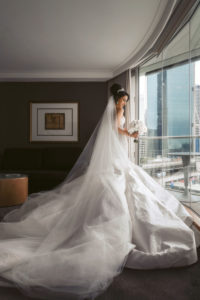wedding gown from Norma and Lili Bridal Couture
