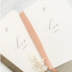 vow books from wild lavender studio