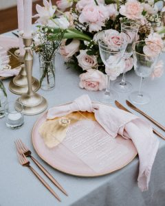 Table Setting from Red Gardenia