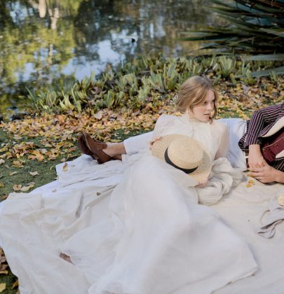 Victorian Dream:  quintessential romantic style shoot  at Rippon Lea Estate