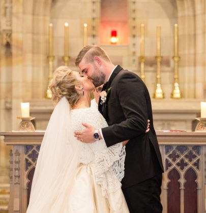 The Modern Wedding of   Isabella & Matthew at  Newman College Chapel