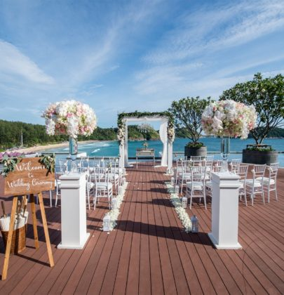 Best Oceanside  Wedding Venues in Phuket