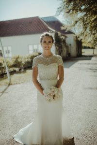Amalie in Jenny Packham gown