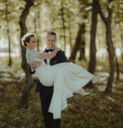 Amalie & Daniel's Danish Wedding  and A Stunning Jenny Packham Gown